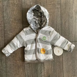 Burt's Bees Baby Organic Cotton Reversible Jacket